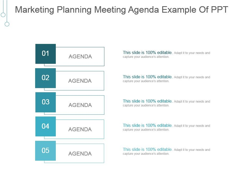Marketing Planning Meeting Agenda Example Of Ppt Presentation - meeting agenda template powerpoint