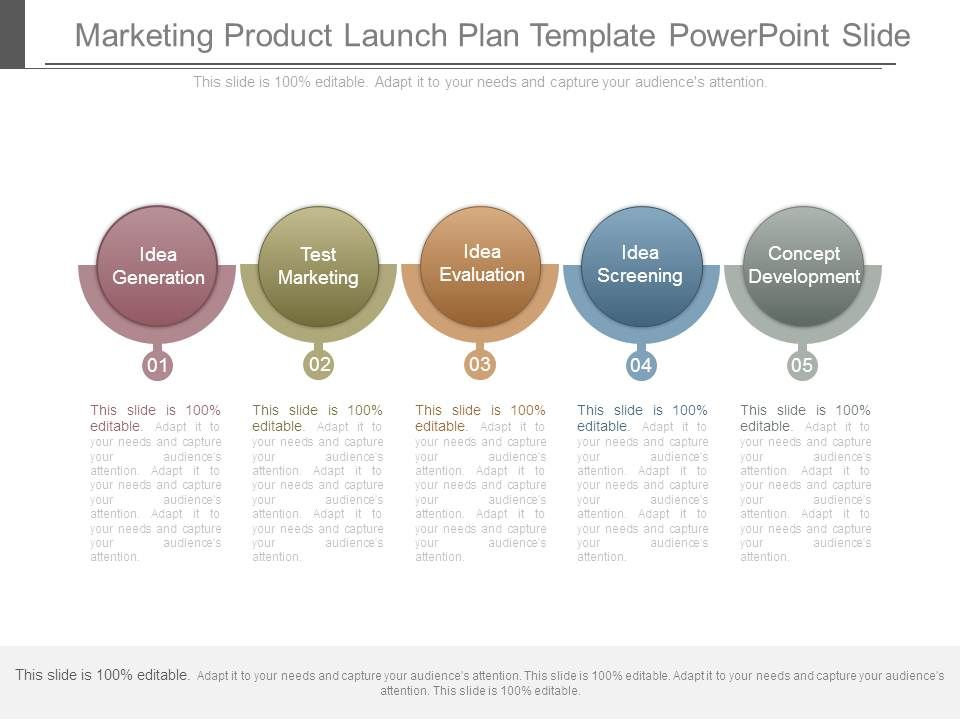 Marketing Product Launch Plan Template Powerpoint Slide PowerPoint - product plan template