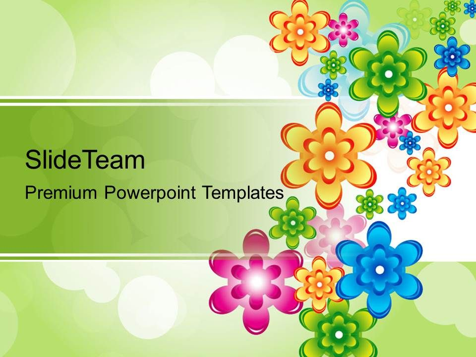 Nature Powerpoint Templates Floral Abstract Background Ppt Slides - nature powerpoint