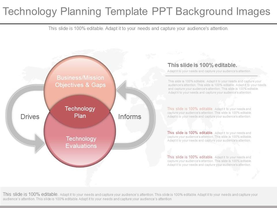 New Technology Planning Template Ppt Background Images PPT Images - technology plan template