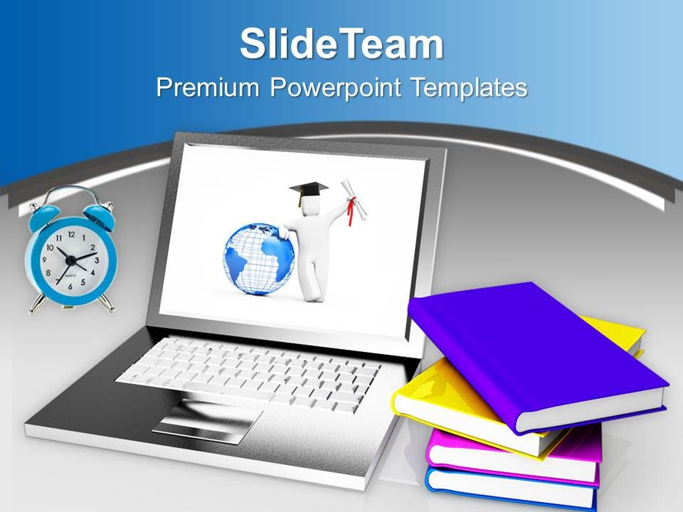Online Education And Learning Future PowerPoint Templates PPT Themes