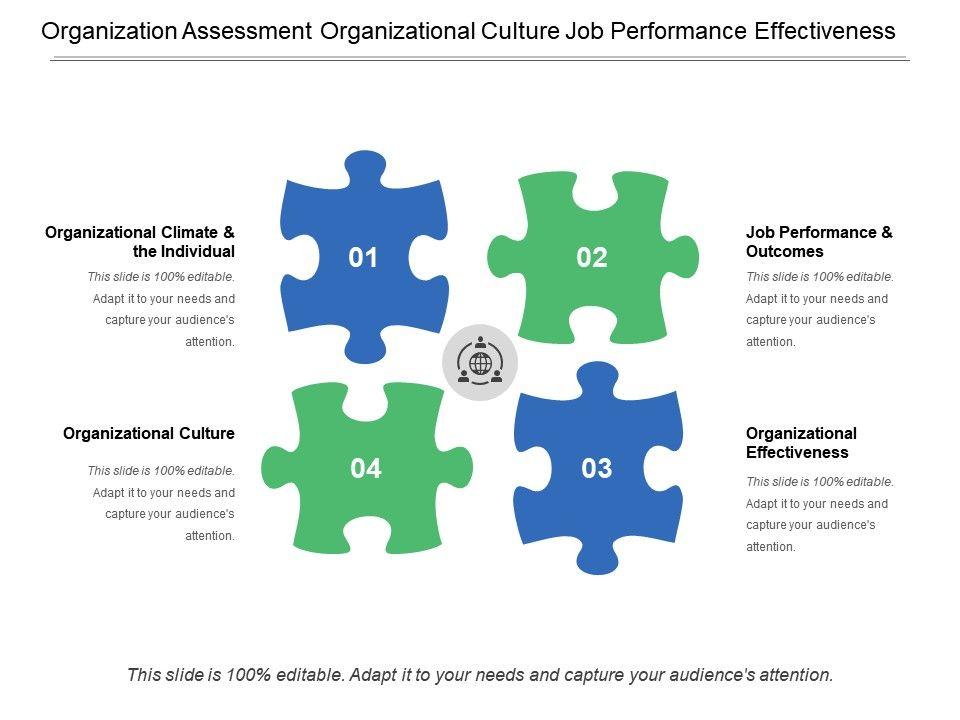 Organization Assessment Organizational Culture Job Performance - organizational assessment template