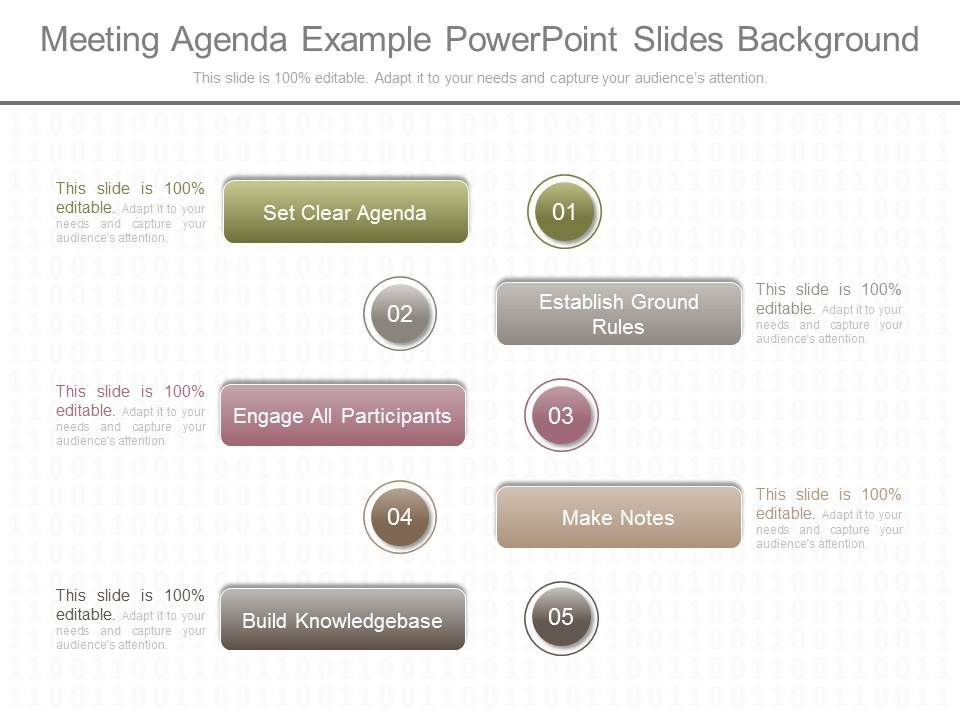 Original Meeting Agenda Example Powerpoint Slides Background - meeting agenda template powerpoint