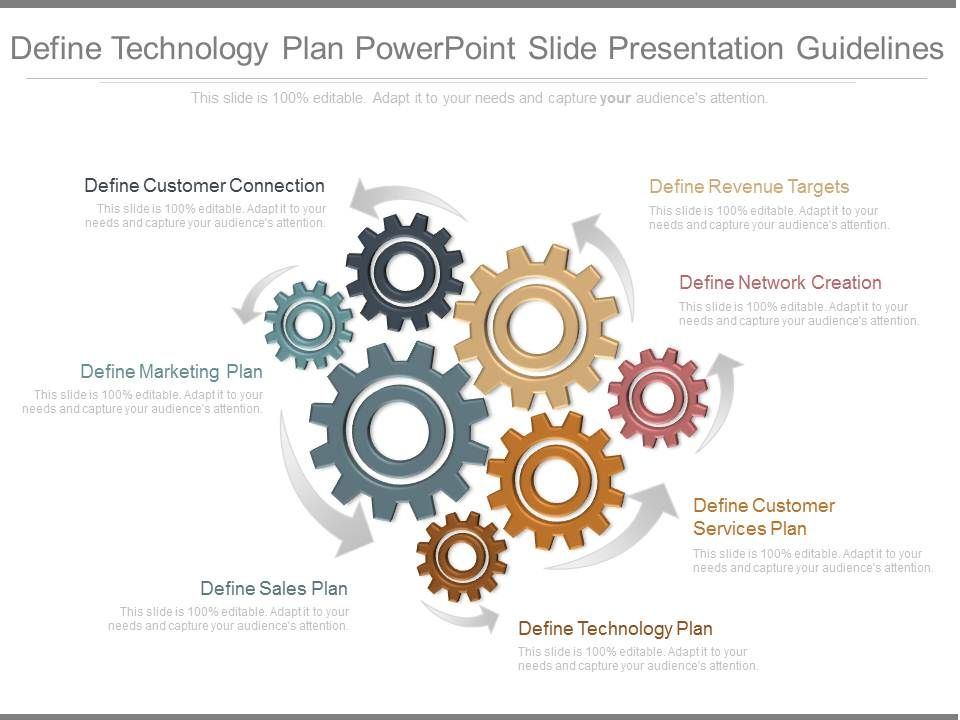 Ppts Define Technology Plan Powerpoint Slide Presentation Guidelines - technology plan template