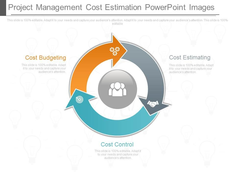 Presentation Project Management Cost Estimation Powerpoint Images - Presentation Project