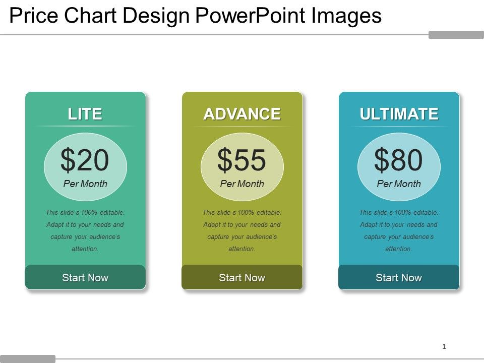 Price Chart Design Powerpoint Images PowerPoint Presentation - price chart template