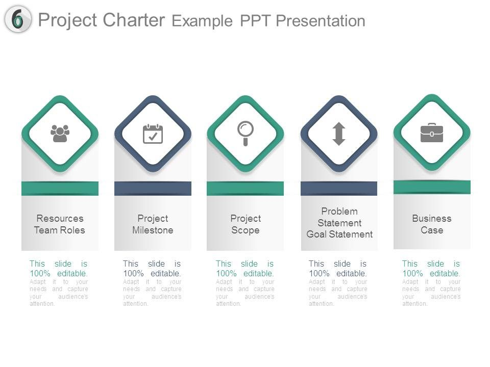 Project Charter Example Ppt Presentation PowerPoint Presentation - project milestone template ppt