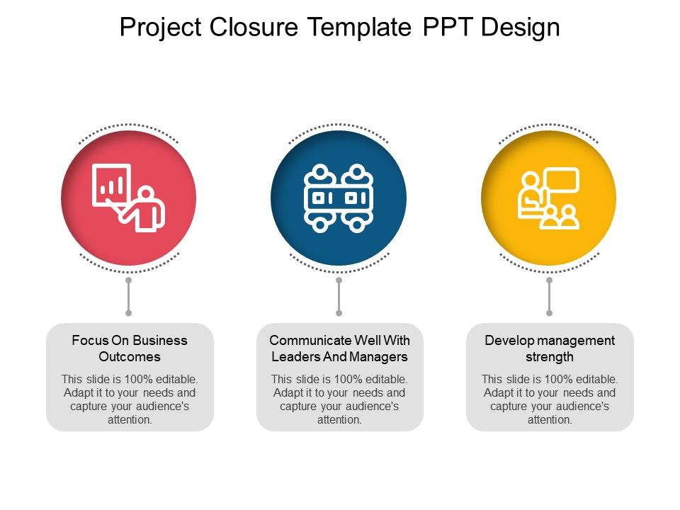 Project Closure Template Ppt Design PowerPoint Slide Images PPT
