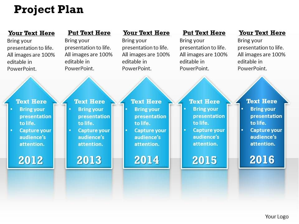 Project Plan PowerPoint Template Slide PowerPoint Slide Clipart - project plan ppt template