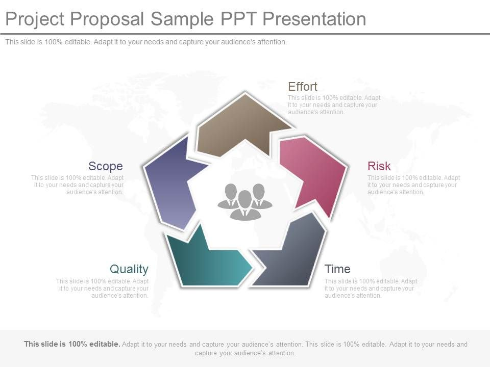 Project Proposal Sample Ppt Presentation PowerPoint Slide Images - Presentation Project