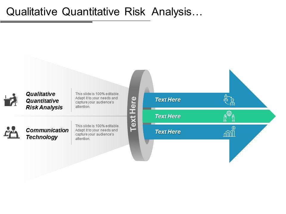 Qualitative Quantitative Risk Analysis Communication Technology