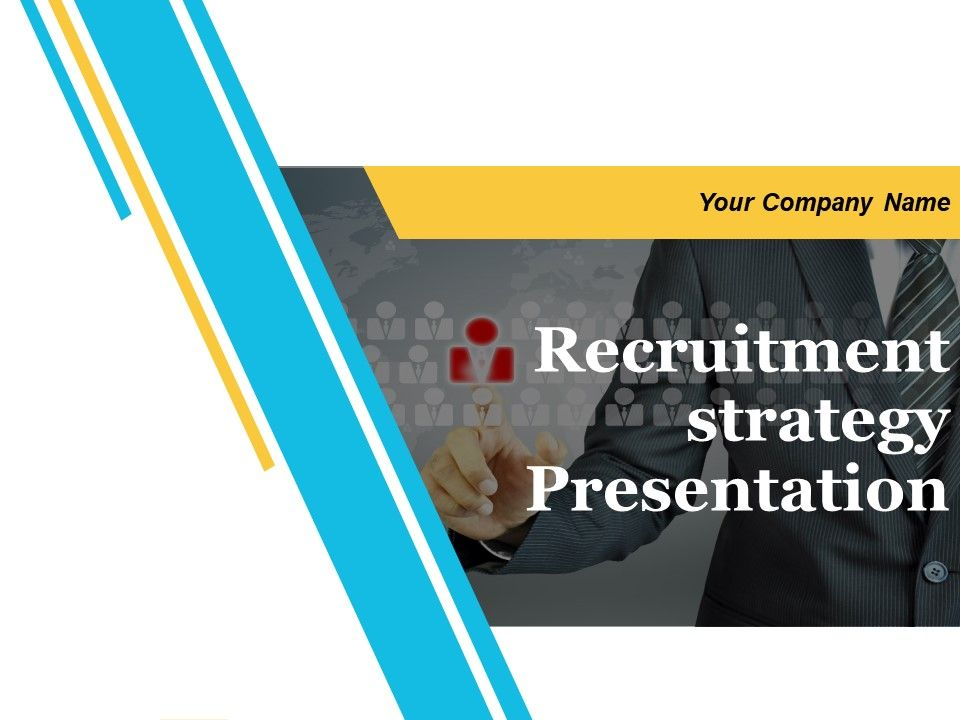 Recruitment Strategy Presentation Powerpoint Presentation Slides