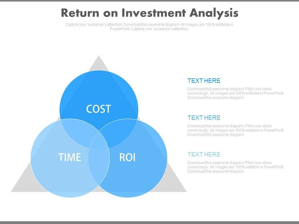 Return On Investment Analysis Ppt Slides PowerPoint Design