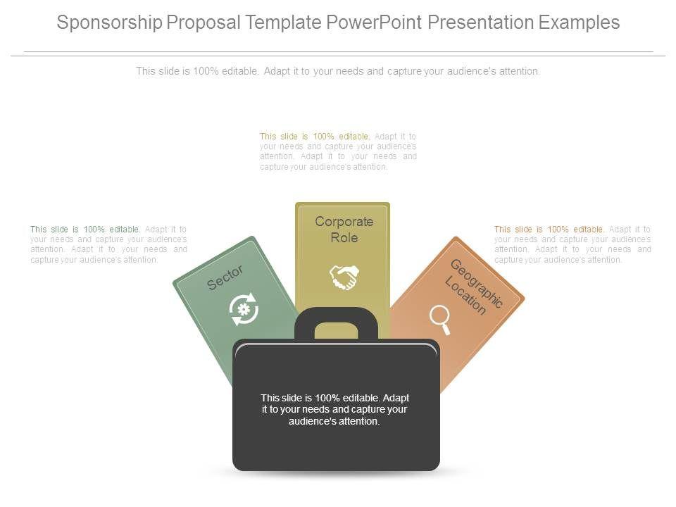 Sponsorship Proposal Template Powerpoint Presentation Examples - powerpoint proposal template