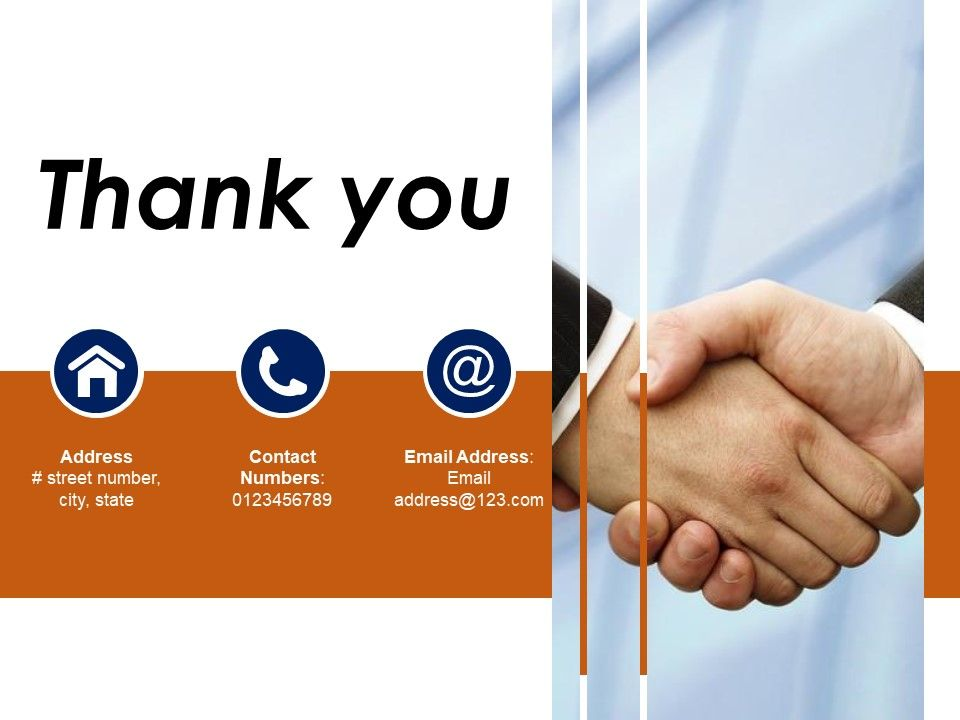 Thank You Sample Presentation Ppt Template 1 PowerPoint Slide
