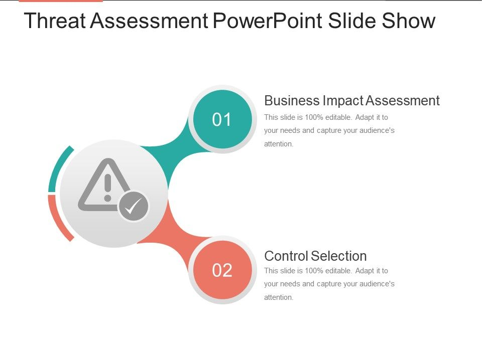 Threat Assessment Powerpoint Slide Show Template Presentation