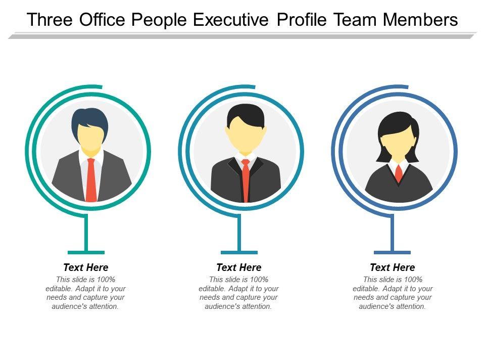 executive profile template