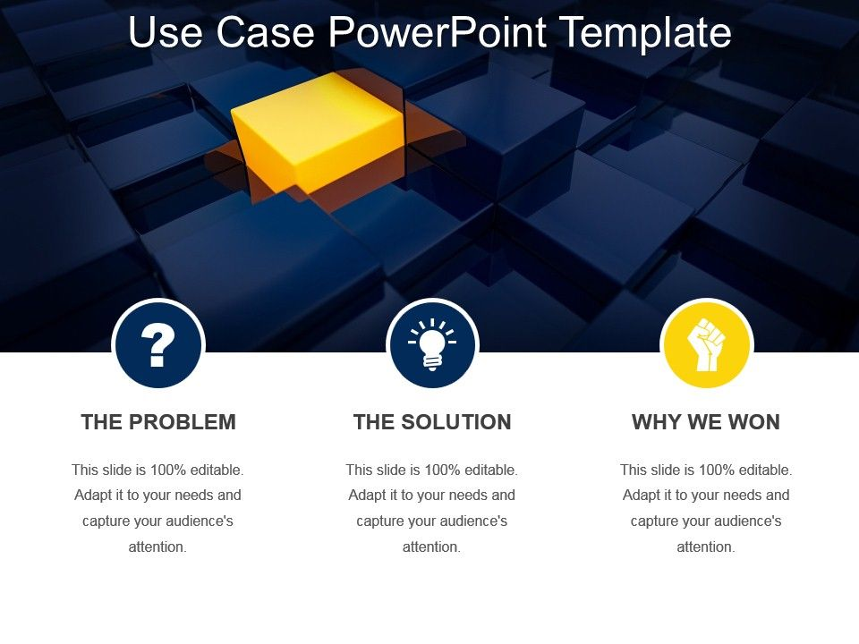 Use Case Powerpoint Template PowerPoint Presentation Images - use case template
