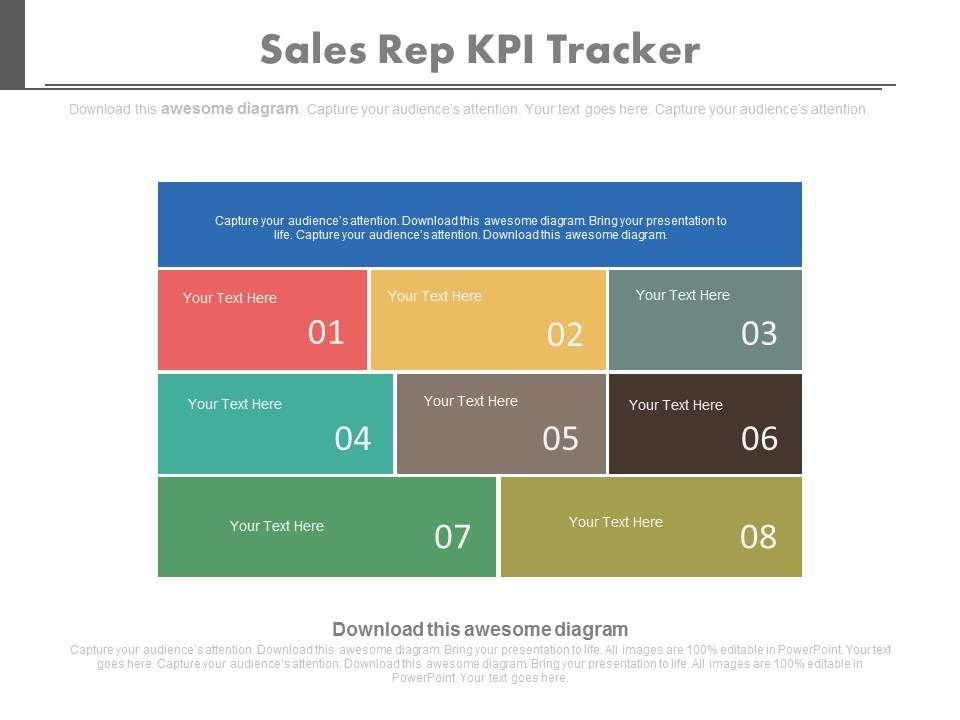 view Sales Rep Kpi Tracker Key Performance Indicator Evaluate