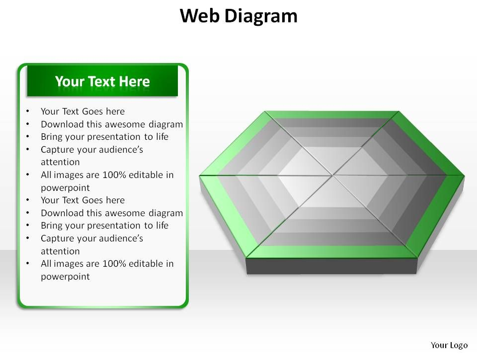 web diagram ppt slides presentation diagrams templates powerpoint