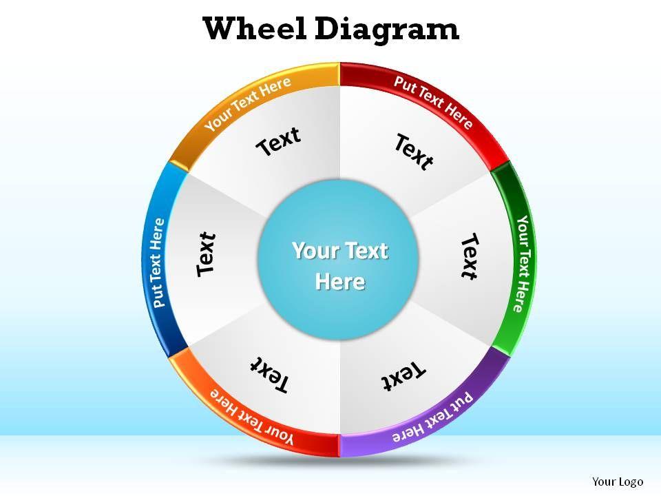 wheel diagram ppt slides presentation diagrams templates powerpoint - diagrams template
