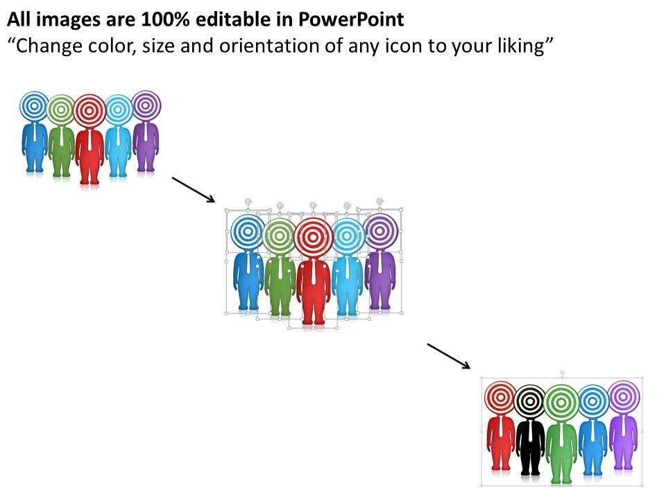 0115 Diagram Of Target Audience Profile Powerpoint Template