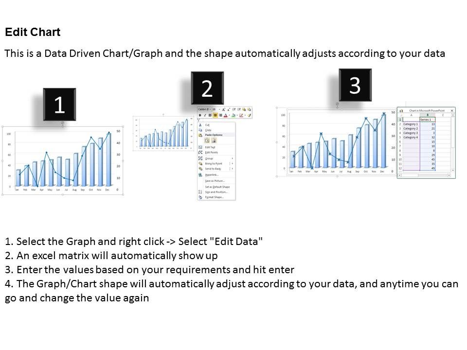 0414 Rate Of Growth Column Line Chart Powerpoint Graph PowerPoint