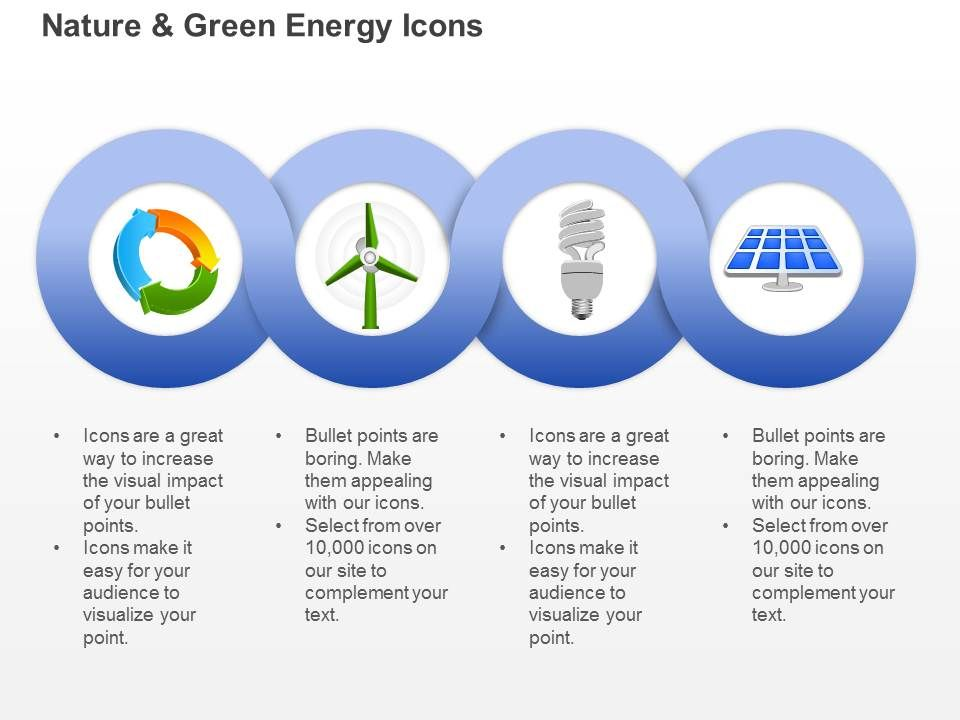 Cd Ecology And Green Energy Icons With Windmill Cfl And Solar Light