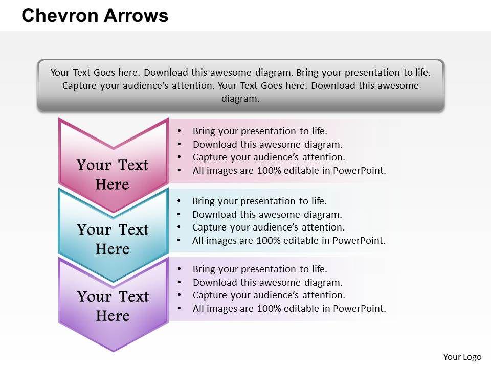 Chevron Arrows PowerPoint Template Slide Templates PowerPoint