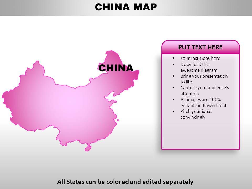China Country Powerpoint Maps PowerPoint Templates Designs PPT
