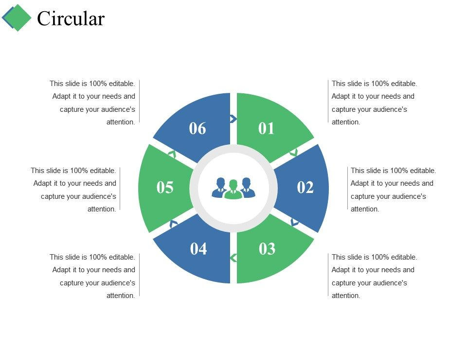 Circular Ppt Summary Graphic Tips PowerPoint Templates Designs