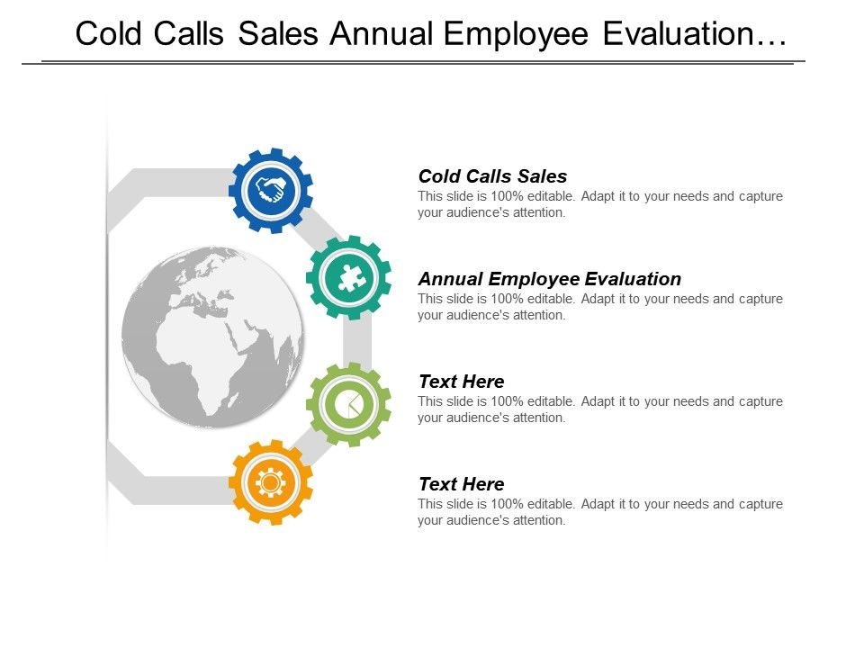 Cold Calls Sales Annual Employee Evaluation Advertising Techniques