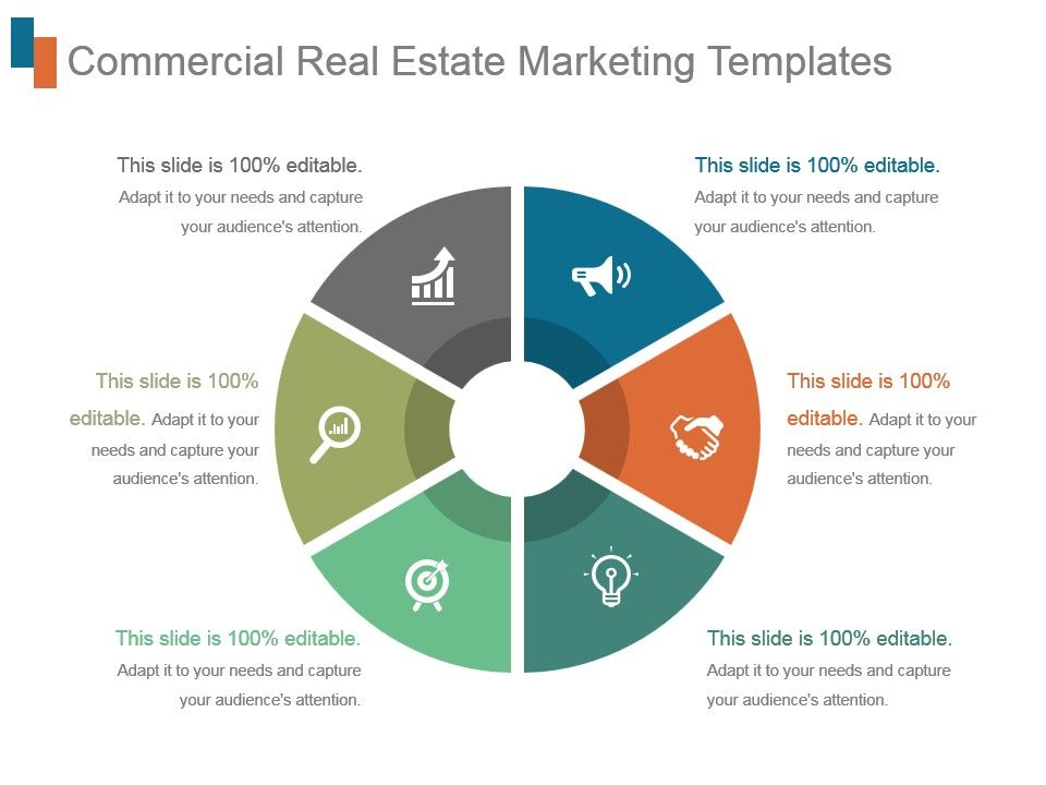 Commercial Real Estate Marketing Templates Powerpoint Slides
