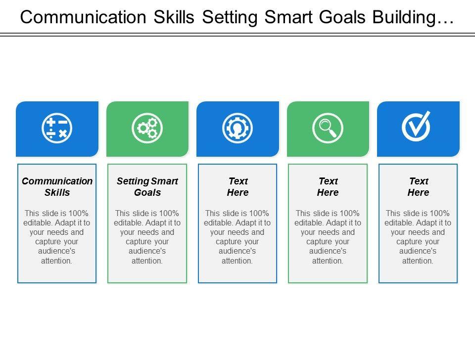 Communication Skills Setting Smart Goals Confidence Building Value