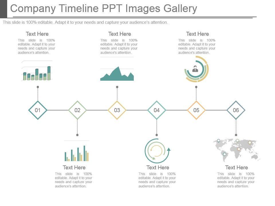 timeline on ppt - Barcaselphee
