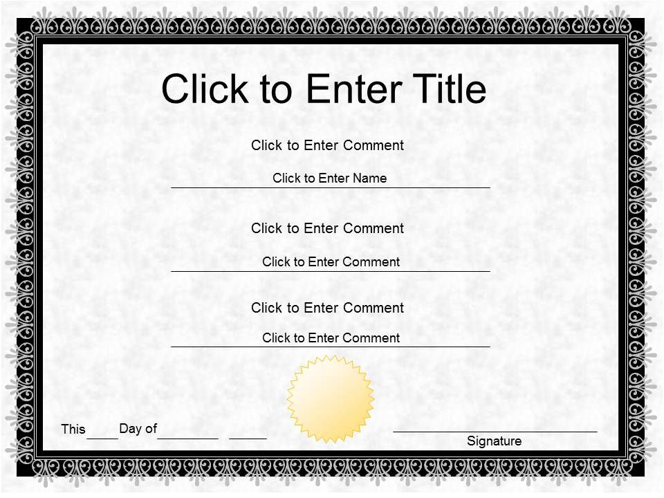Employee Award diploma Certificate Template of Completion completion