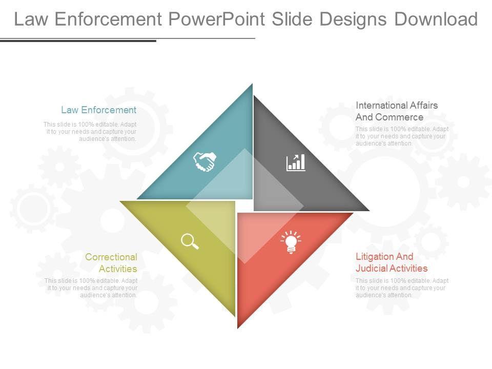 Law Enforcement Powerpoint Slide Designs Download PowerPoint