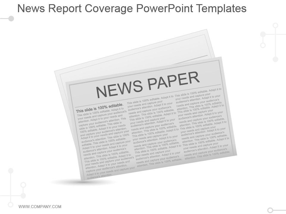 News Report Coverage Powerpoint Templates Templates PowerPoint