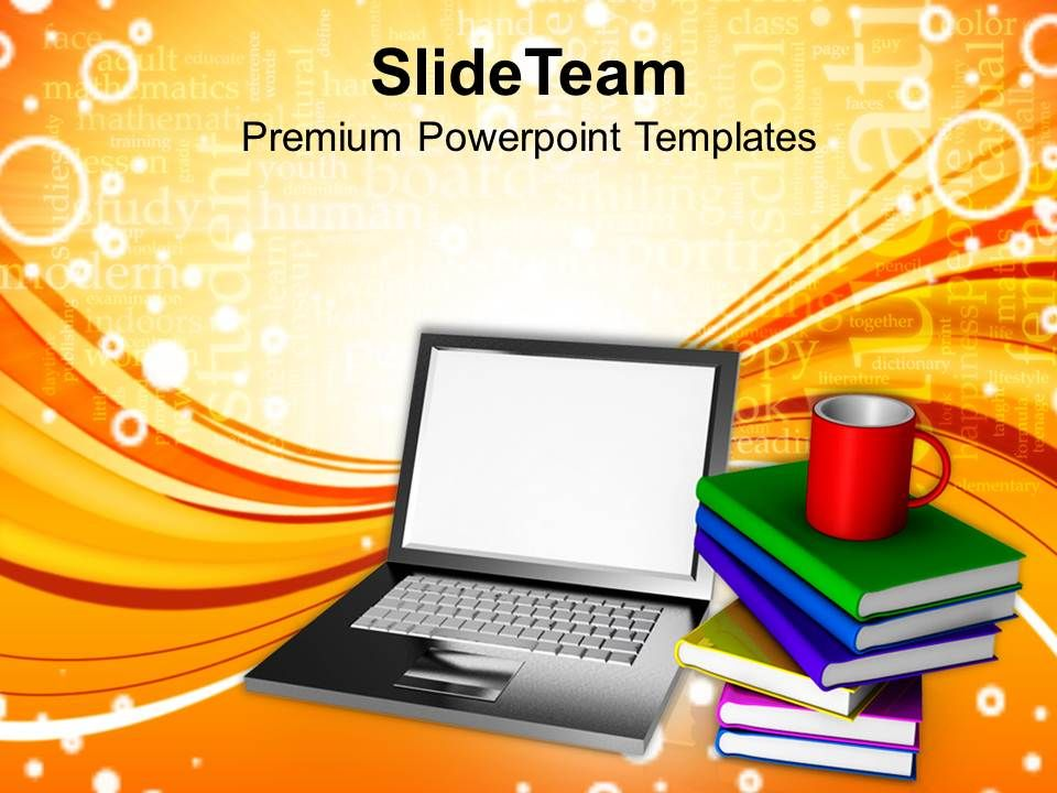 Online Learning Concept Technology Powerpoint Templates Ppt Themes