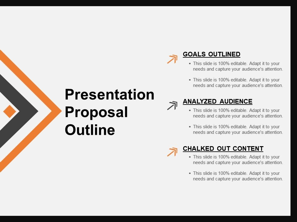 Presentation Proposal Outline Powerpoint Slides Design PowerPoint