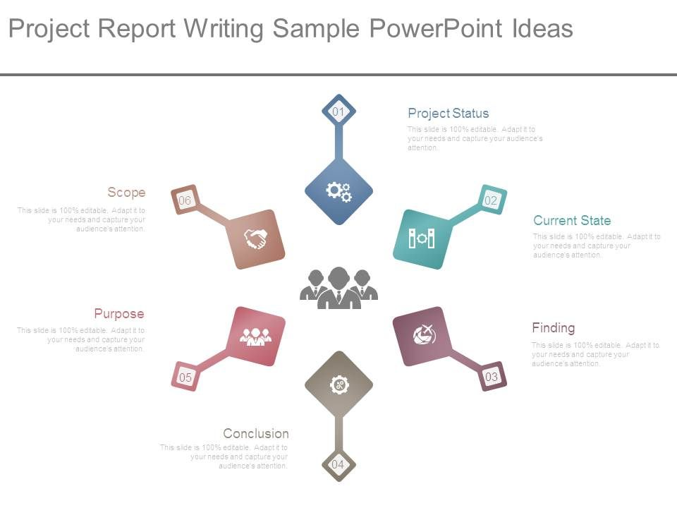 Project Report Writing Sample Powerpoint Ideas Graphics