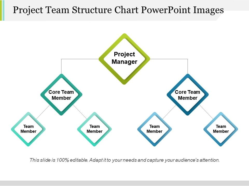 Project Team Structure Chart Powerpoint Images PowerPoint