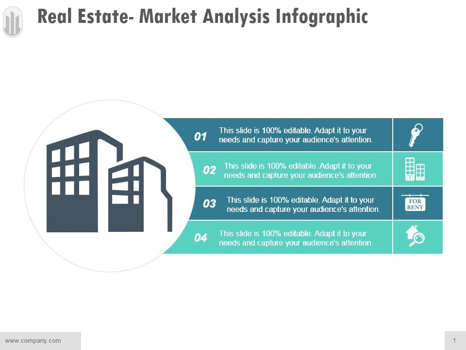 Real Estate Market Analysis Infographic Example Of Ppt PowerPoint
