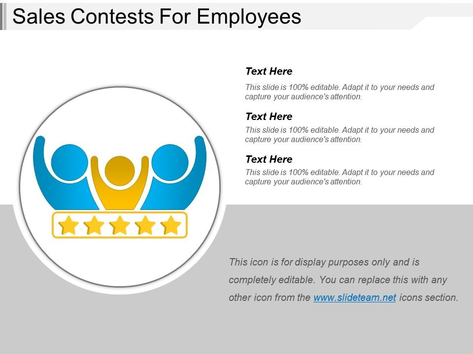 Sales Contests For Employees PowerPoint Templates Designs PPT