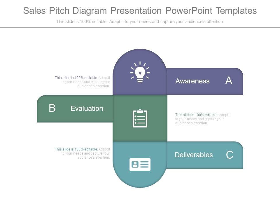 Sales Pitch Diagram Presentation Powerpoint Templates PowerPoint