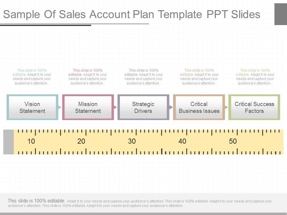 View Sample Of Sales Account Plan Template Ppt Slides PowerPoint