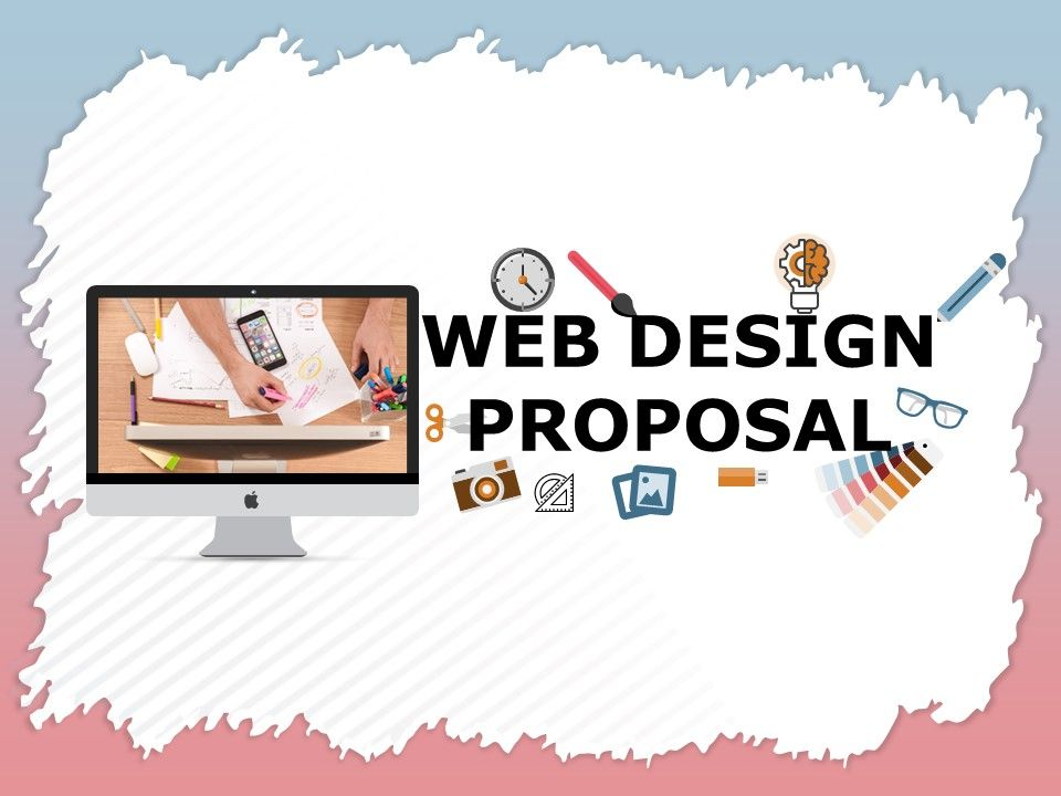 Web Design Proposal Powerpoint Presentation Slides Presentation