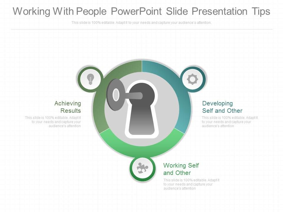 Working With People Powerpoint Slides Presentation Tips PowerPoint