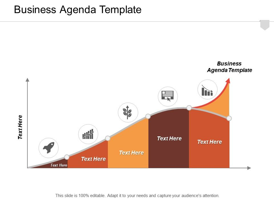 Business Agenda Template Ppt Powerpoint Presentation Infographic