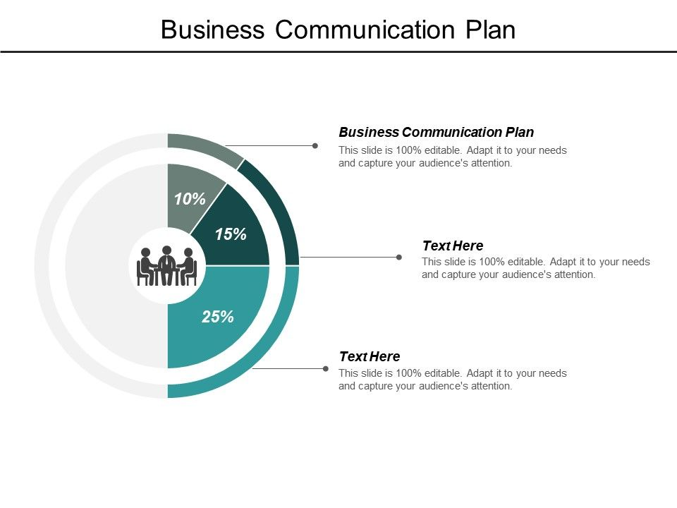Business Communication Plan Ppt Powerpoint Presentation Show Cpb